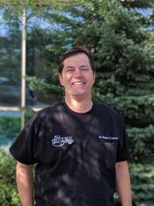 Dr. Stephen Lavrisa smiling